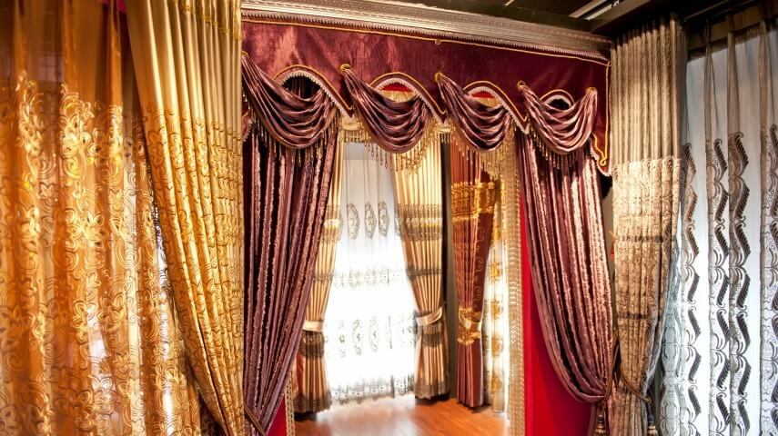 Find different types styles of window curtains for Different styles of drapes