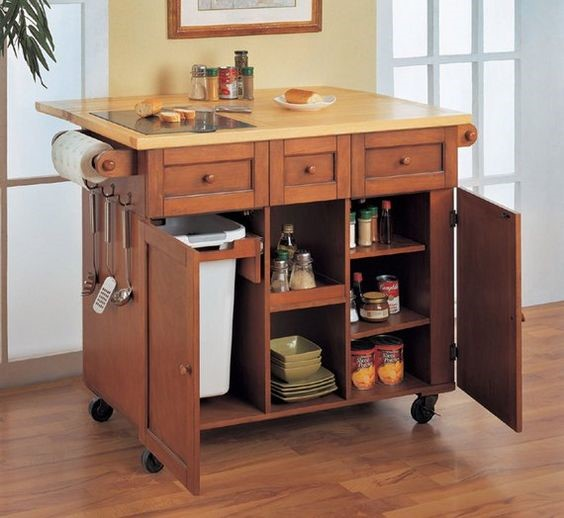 Portable Kitchen Islands With Seating: Creative Decorating Ideas For Small Homes