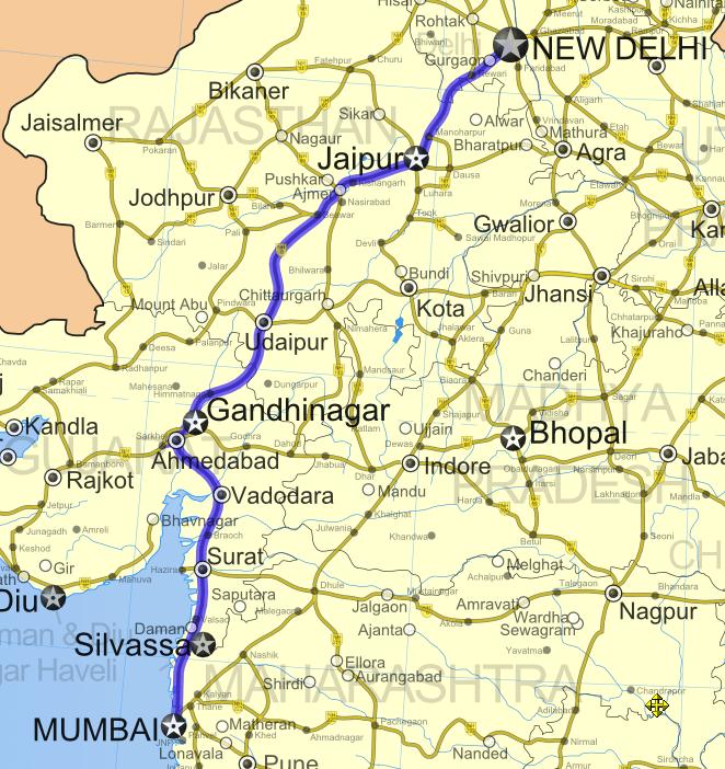 All About Delhi-Mumbai Industrial Corridor Project