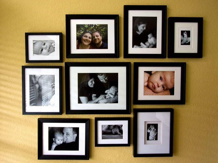 Photo wall (flickr.com)