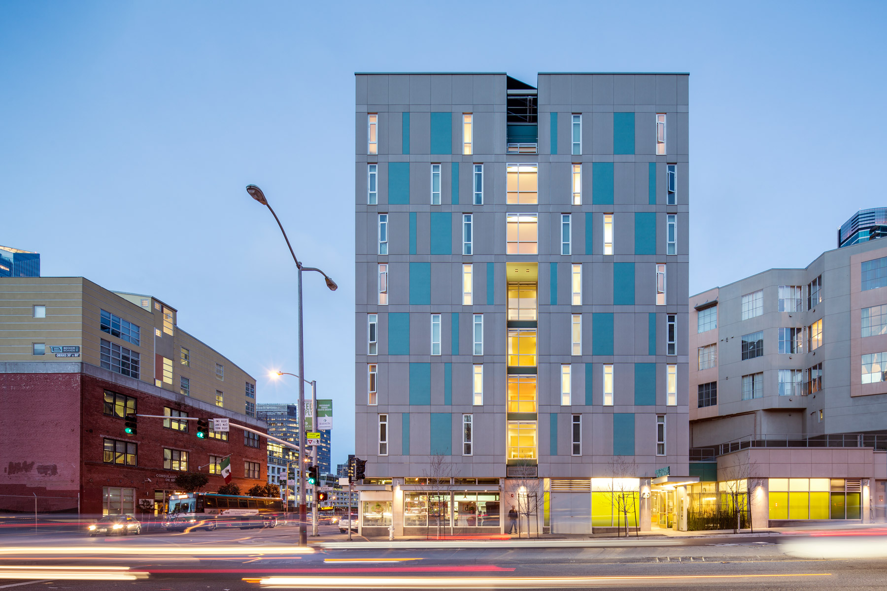 Rene Cazenave Apartments, San Francisco