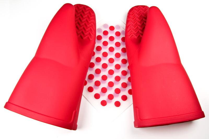 safety (silicon gloves)