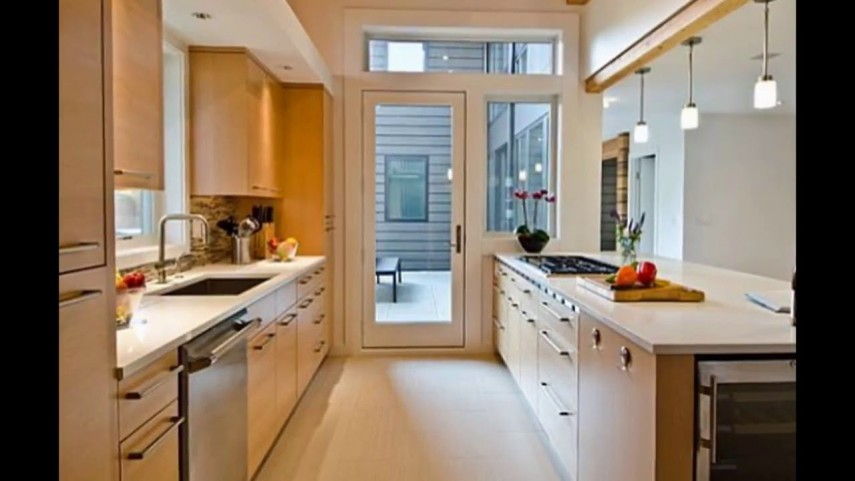Get your small space occupied efficiently with galley kitchen - Best kitchen design for small space property ...