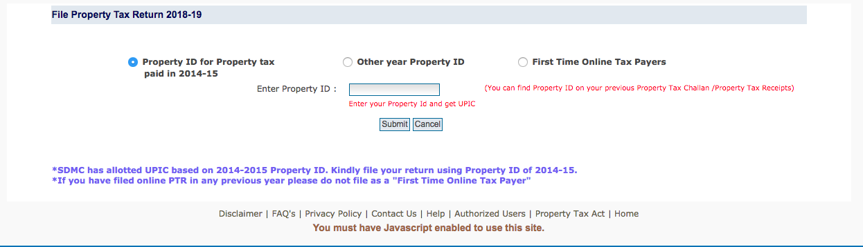 Property Tax Online In Delhi: Step-By-Step Guide