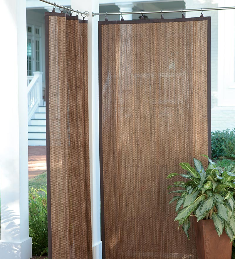 Hang Blinds Outside Window Frame: Different Types Of Outdoor Curtains That Ensure Privacy