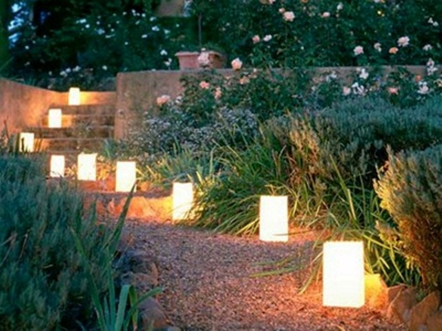 Add charm to your evenings with unique outdoor lights for Garden lighting designs