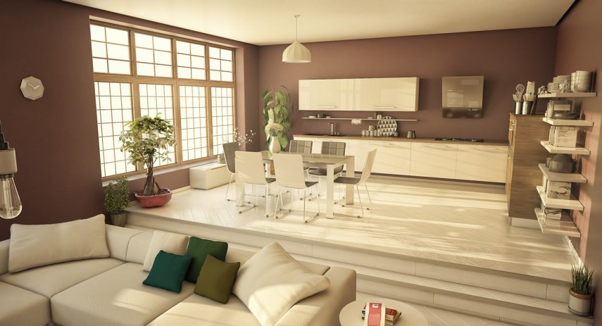 Home Sutra: Vastu Tips For A Home Where Living U0026 Dining Area Are Divided By