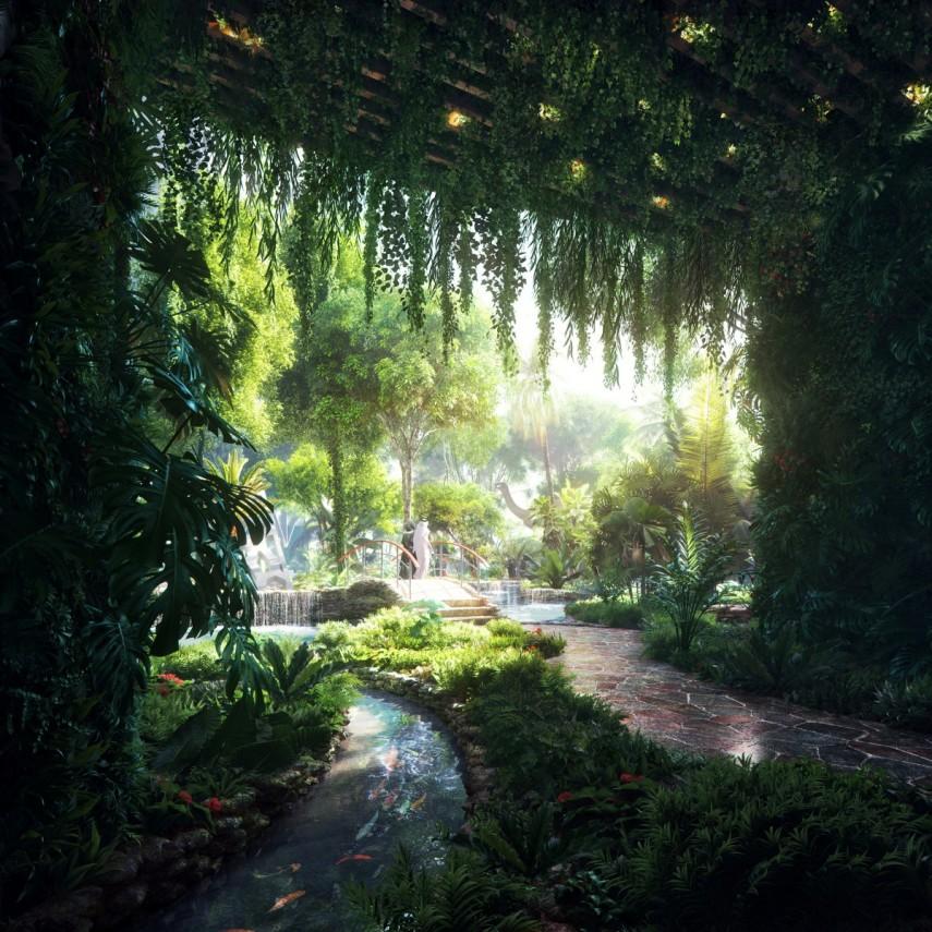 rainforest jurassic