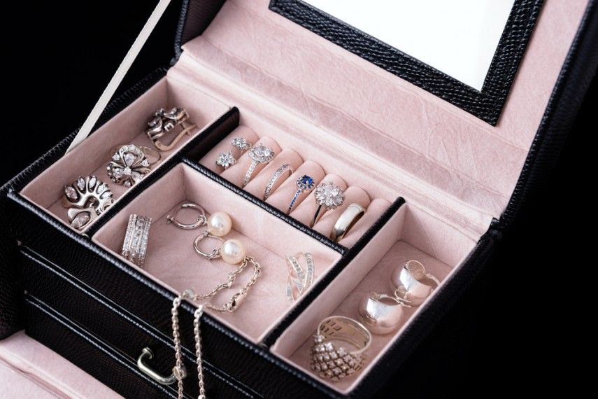Jewellery Box Organiser