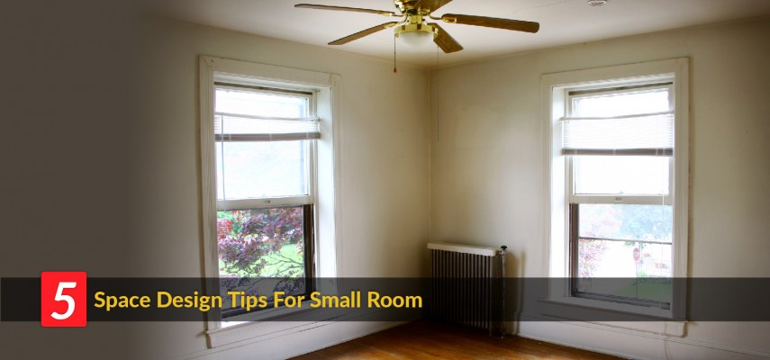 Home Dcor Ideas 5 Space Design Tips For A Small Room