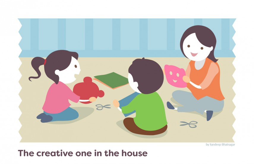 9 enchanting fun at home activities to occupy young minds for Fun at home projects