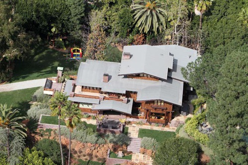 Brad Pitt And Angelina Jolie's Hollywood Home