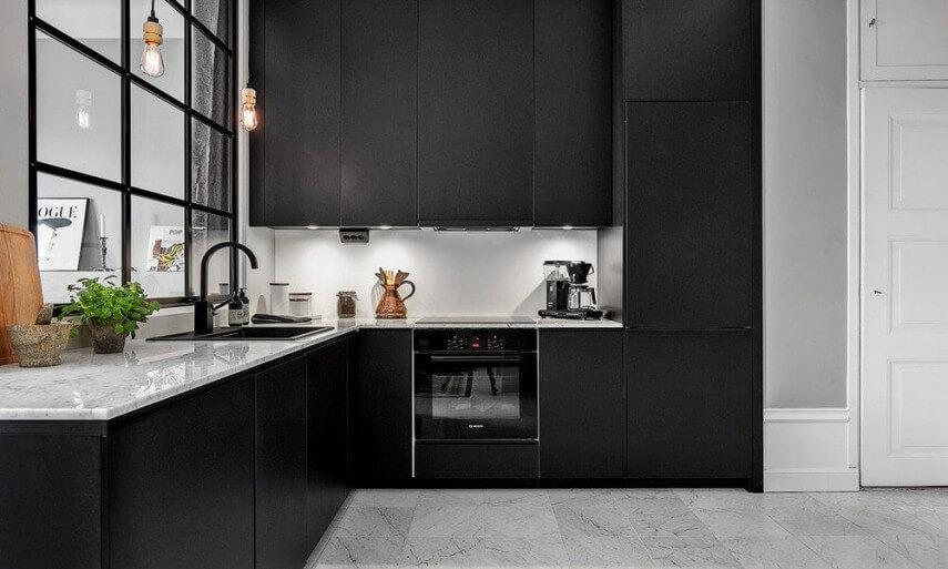 Matte kitchen