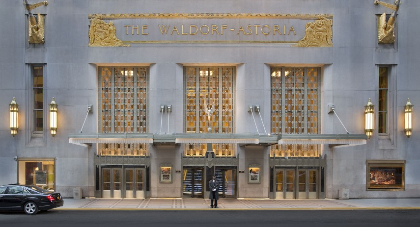 Waldorf_Astoria_New_York_Brad Pitt Angelina Jolie