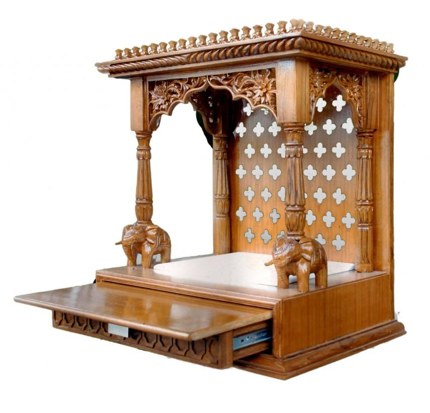 Vastu Tips For Placing Wooden Mandir At Home