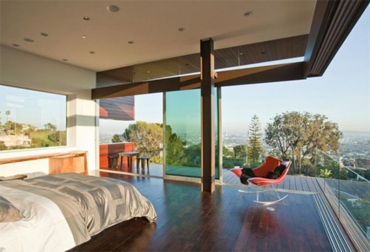 rooftop bedroom