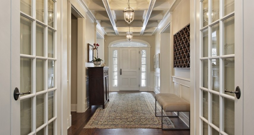 Want a foyer these 7 design tips will create the perfect illusion of an entryway
