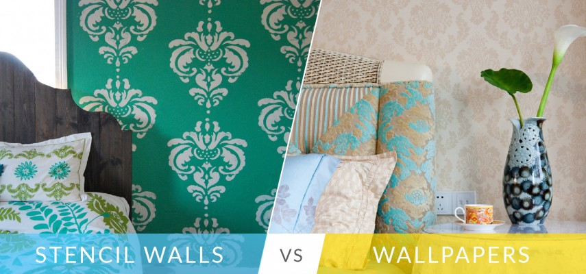 Stencil Paint Or Wallpaper: Here's What You Should Choose