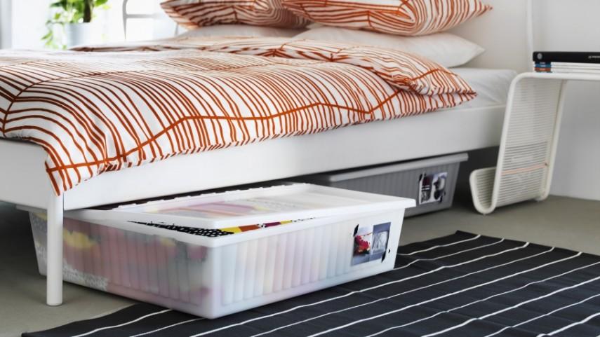 under the bed storage