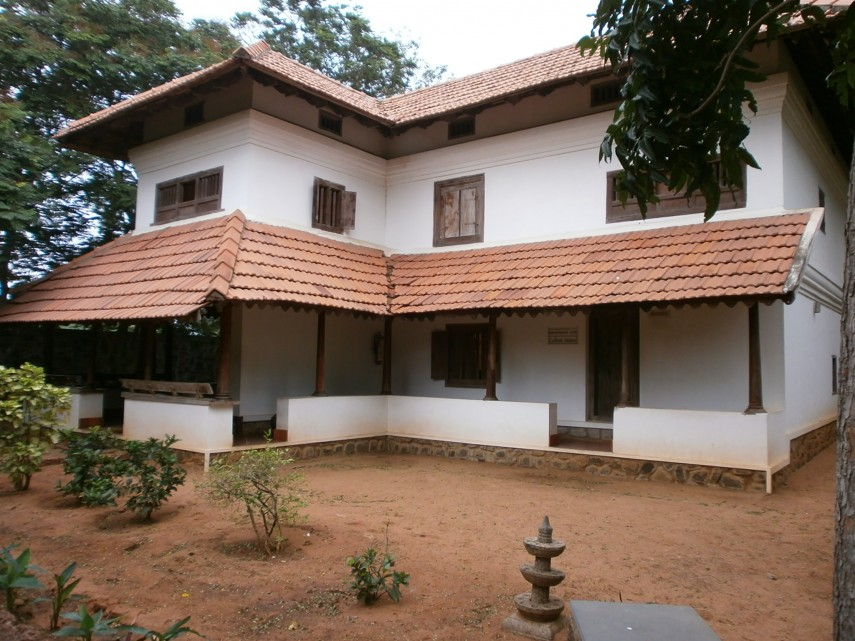 Glimpse of a traditional south indian abode some home for Traditional house designs in tamilnadu