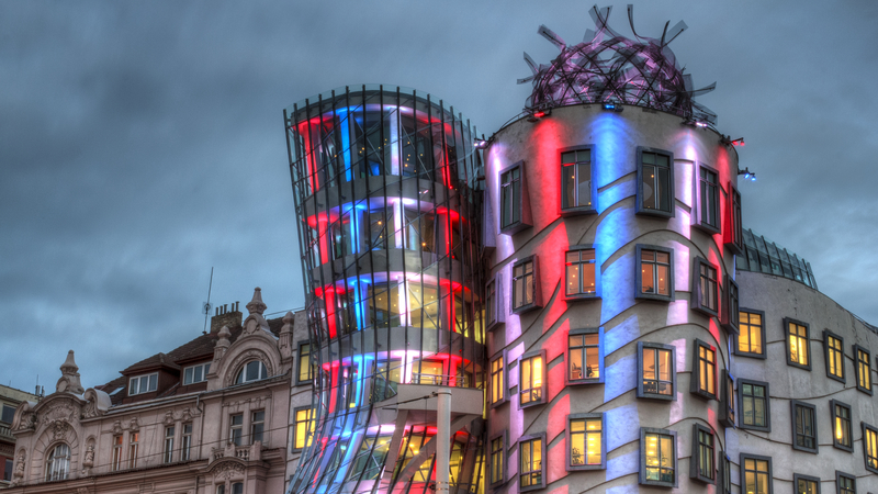 Dancing house  (dreamstime)