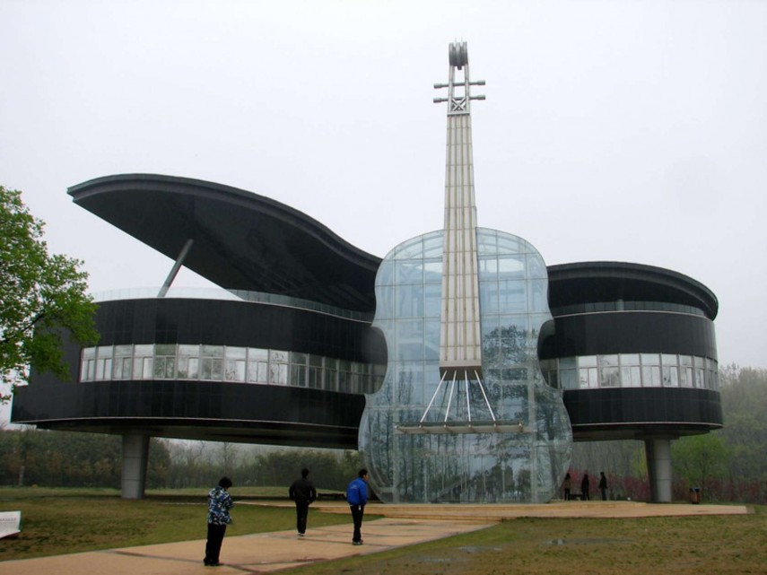 Piano House. Huainan, China (WoW Amazing)