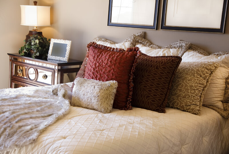 Pillows Bedroom
