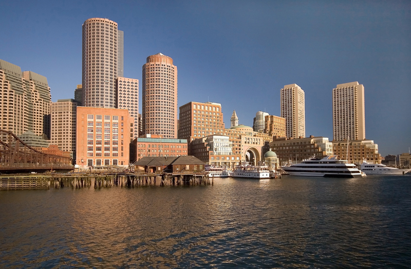 Boston's seaport district