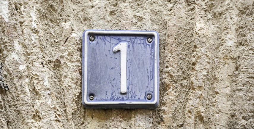 numerology house number 1