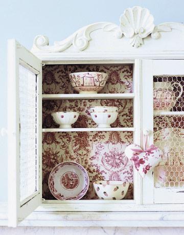 wallpaper cabinet