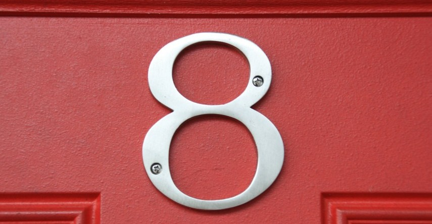House Number Numerology: Meaning of House Number 8