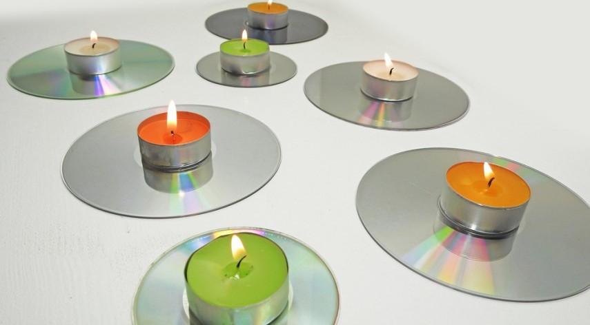 candles, CDs