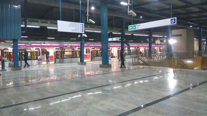Delhi Magenta Line Fully Operational, To Connect T1 With