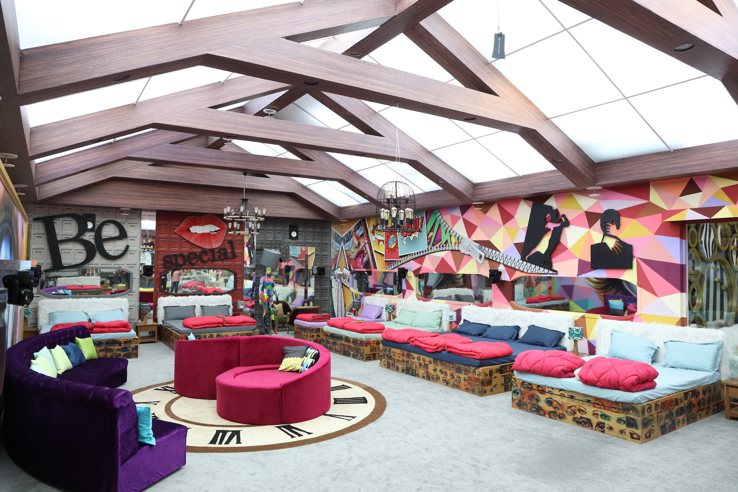 In Pics Bigg Boss Season 13 House Is A Quirky Museum