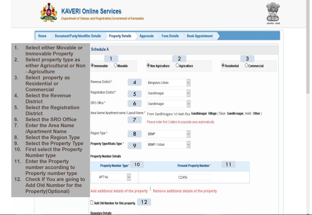 Step-By-Step Guide To Register Property Online In Karnataka