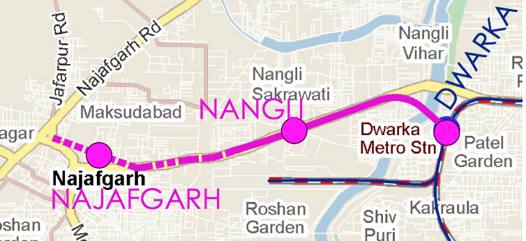 Delhi Metro Grey Line