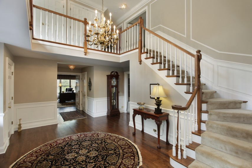 L Shaped staircase