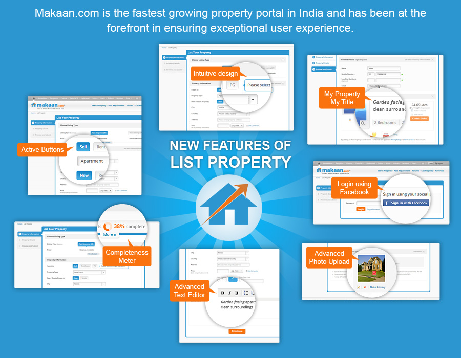 Post property within 3 mins: Makaan com revamps